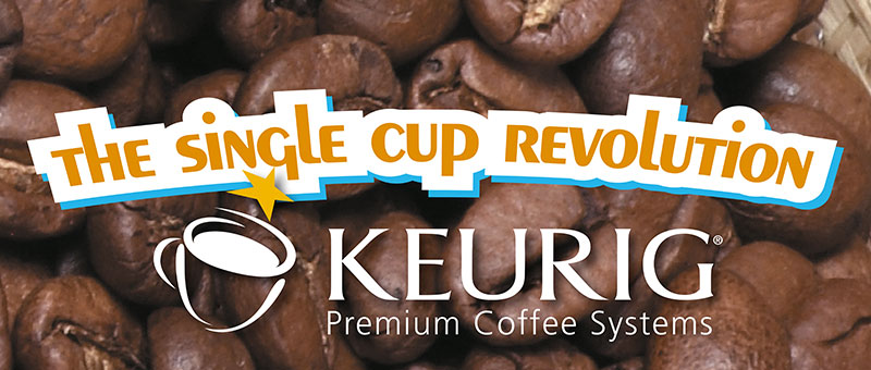Paradise Coffee Grand Cayman Keurig Brewing banner cut-out
